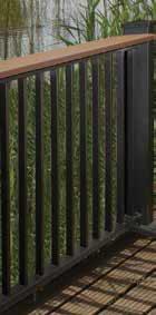 Afco Series 200 Aluminum Railing System