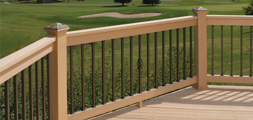 Estate Aluminum Balusters