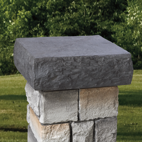 Deckorators Stone Column Sleeve Cap - Natural Gray
