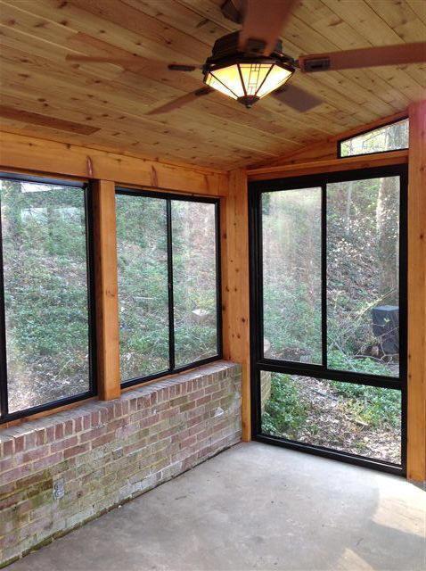 Glass Windows For Screen Porch : Riviera slider aluminum patio wi