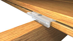 Invisi fast2 at deck builder outlet online store for Fiberon decking cost per square foot