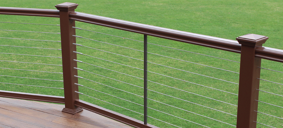 Fairway Cable Railing Posts