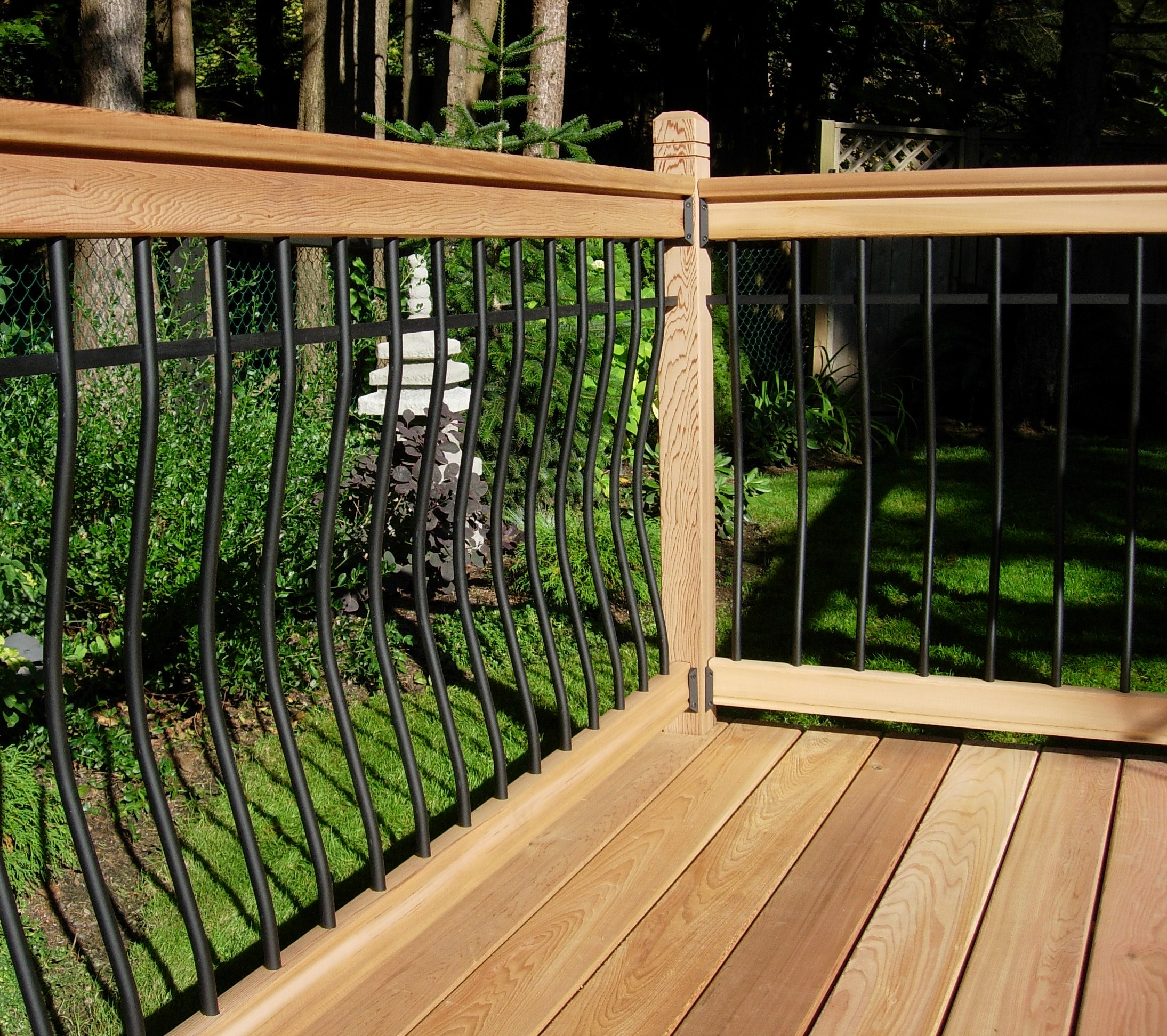 Picture of: Rail Simple Railings At Deck Builder Outlet Online Store