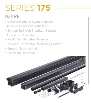 AFCO Series 175 Aluminum Cable Railing System