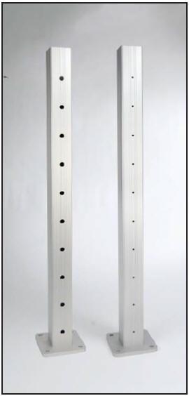 Aluminum Railing System For Use