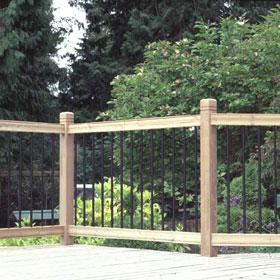 Rail Simple Railings at Deck Builder Outlet Online Store on