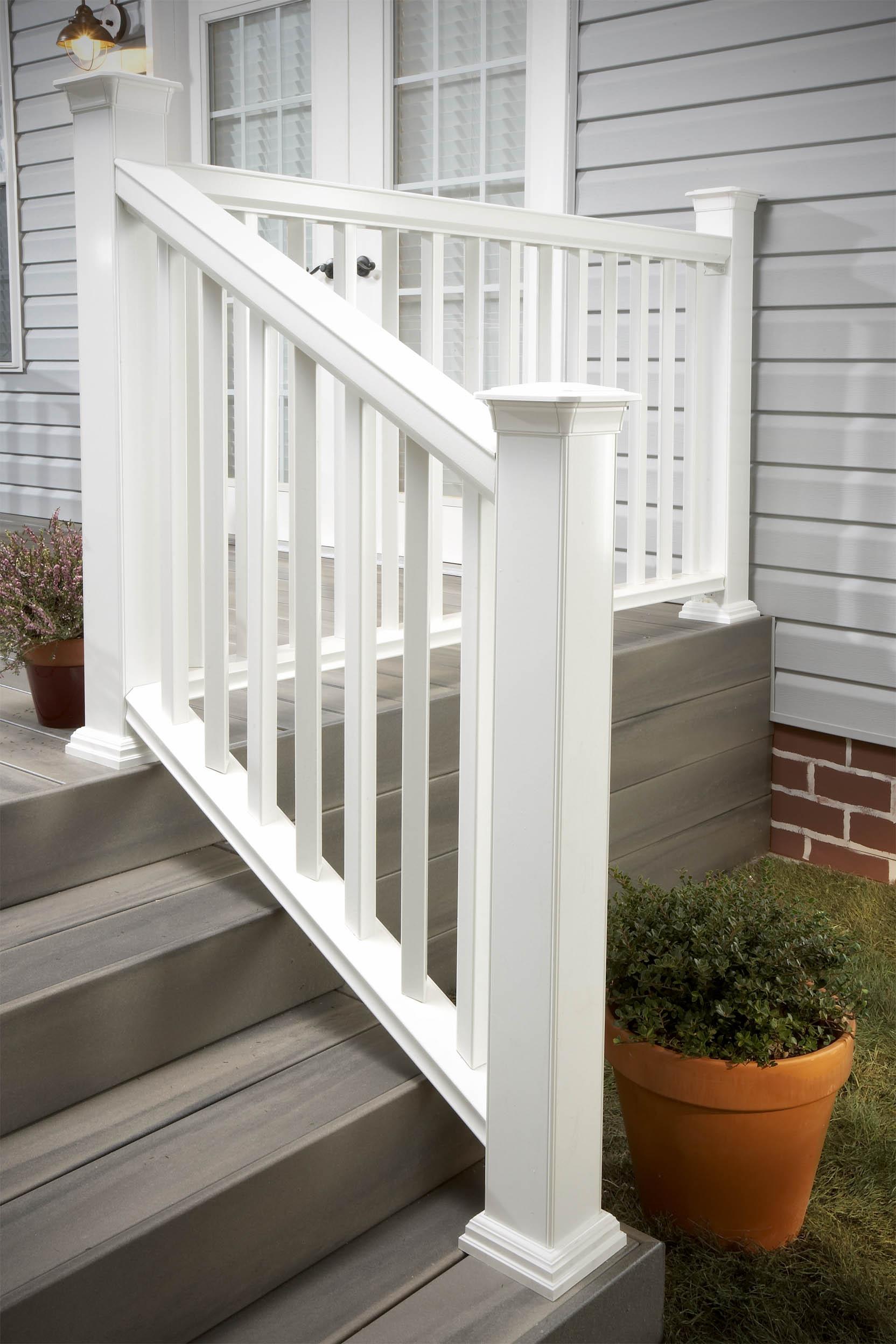 Fiberon Traditional Stair Railing Installation Instructions