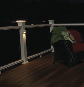 Fiberon deck rail lighting aloadofball Image collections