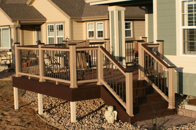 Fortress balusters at deck builder outlet online store for Fortress fence design