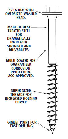 Ledgerlok Screws At Deck Builder Outlet Com