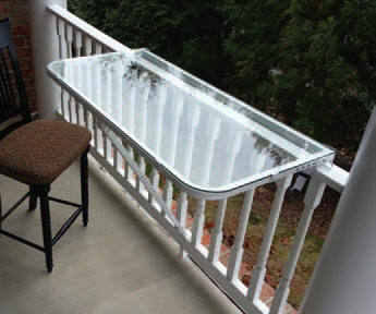 Deckmate Railing Table