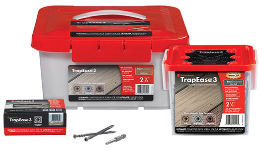 Tree House TrapEase 3 Deck Screw 2-1//2 350 Screws